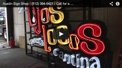 Put Your Name In Lights With Channel Letters Austin Sign