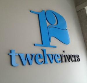 12 Rivers Interior Signage