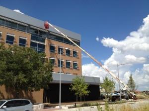 110 foot crane