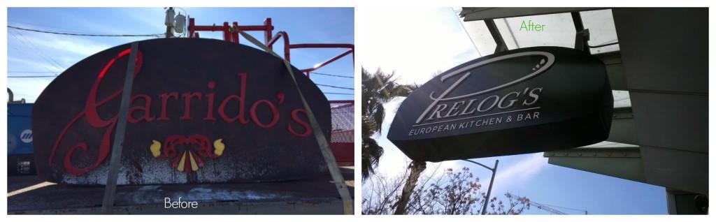 CND Signs Refurbished Sign