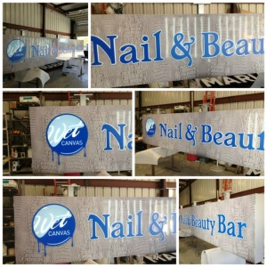 Small Business Outdoor Sign