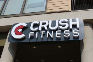 Crush Fitness Sign